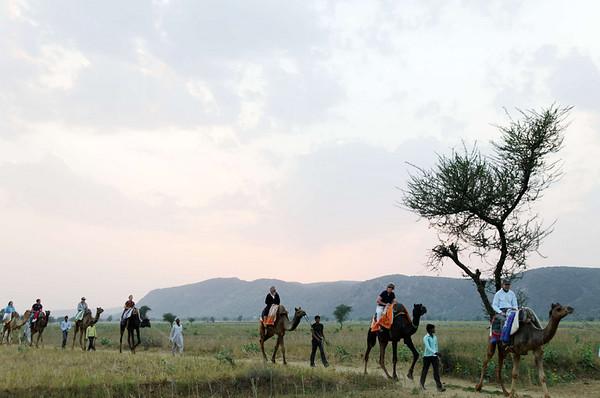 Sunset over the caravan, Kalakho