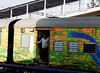Colorful trains, Agra Railway Station