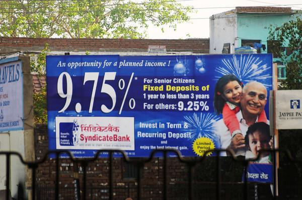 DAY 13:  FDIC insured?, Agra