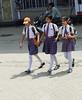 Schoolgirls, Varanasi