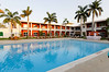 Great pool, our ground floor rooms opened up directly to it, Hotel Chandela, Khajuraho