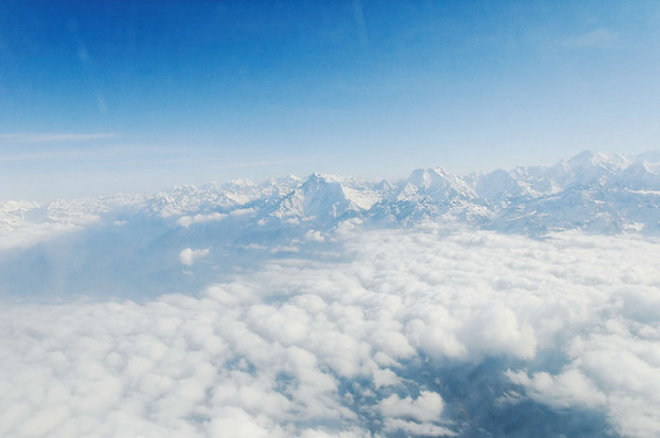 Flight to the Himalayas and Mt. Everest, Nepal