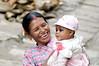Mother and child, Bungamati Nepal