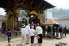 Busy scene, Jal Binayak Temple (17th century), Kathmandu Nepal