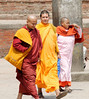 Monks, Patan Durbar Square, Lalitpur (Patan) Nepal
