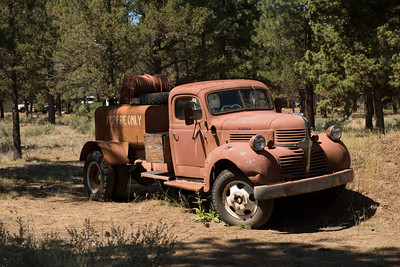 An old water truck.