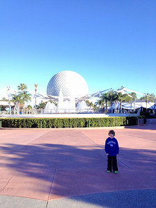 Epcot and its only guest