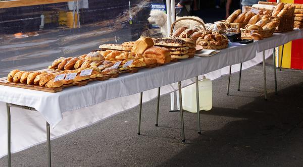 Pastries and breads, La Cigale Market