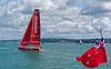 Harbor Bridge and sailboats