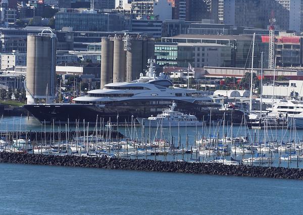Serene, a 423 million dollar superyacht, owned by Russian vodka tycoon Yuri Schefler