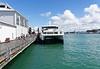 Docking at Devonport