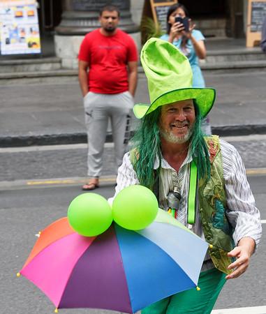 If he's green, he must be Irish