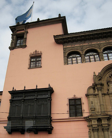 Lima, building detail