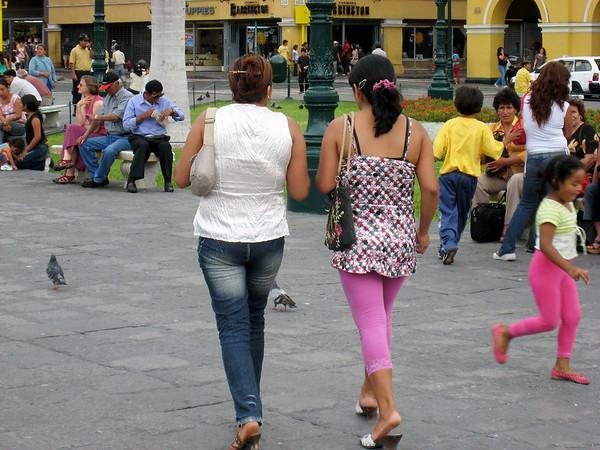 Scenes in Lima, Peru