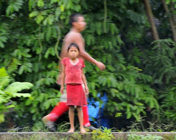 Small Ribereño community, Yucuruchi, Rio Ucayalli