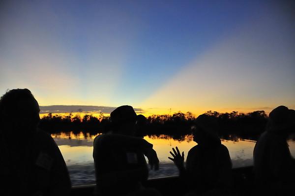 Awestruck, Yana Yaku (Black Water) Lake, Rio Pacaya, Peru