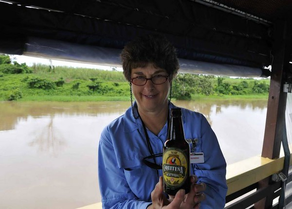 Suzanne & the local brew