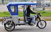 A very nice 3-wheeler, Iquitos airport, Peru