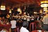 Farewell dinner with Captain Joe & his crew, Gallito, The Amazon River, Peru