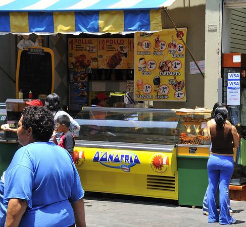 Street scene, Lima, Peru