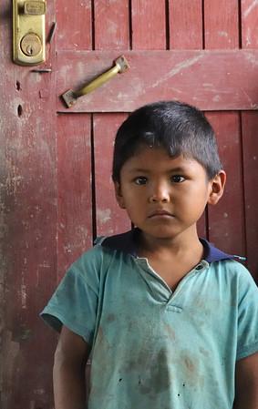 Watching Doña Dora, Libertad, Rio Ucayali, Peru