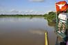 About to enter the hyacinth canal, Rio Pacaya, Peru