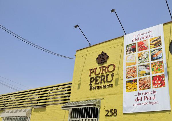 Jorge's fav restaurante, Lima, Peru