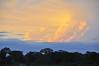 Sunset over the Amazon, Canal de Puinahua, Peru