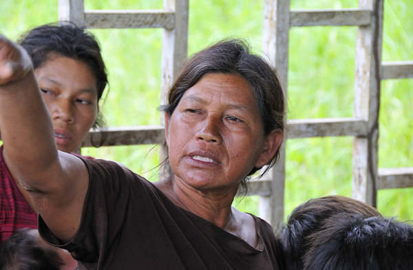 Yuracocha, visit to Elmer Faucett village, near Requena