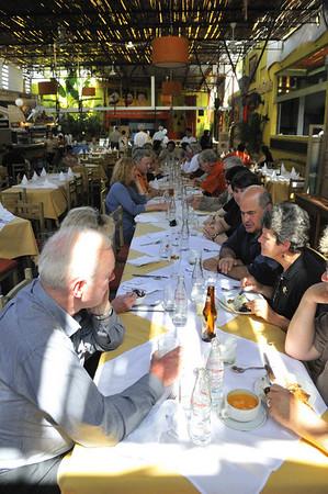 Dining at Puro Peru, Lima, Peru