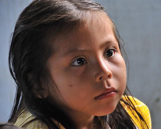 Beautiful child, La Reforma, Rio Tapiche, Peru