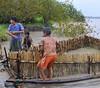 Boys getting ready to show us a catfish, Yucuruchi, Rio Ucayalli