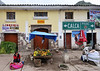 street scene, from the bus, Pisac, Peru