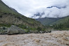 rough Urubamba river, train to Machu Picchu, Urubamba Valley, Peru