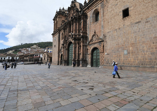 the cathedral of Cuzco, begun in 1564, finished 100 years later, Cusco, Peru