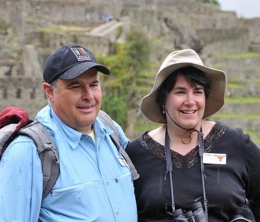 Steve and Debby, Machu Picchu, Peru
