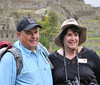 Steve and Debby, Machu Picchu, Peru