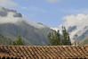 rooftop figures, Sol y Luna Hotel, Urubamba Valley, Peru