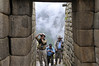 Time for pictures, Machu Picchu, Peru