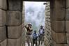 Time for pictures, Machu Picchu, Peru