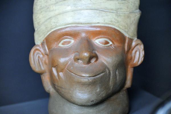 Pottery, Archealogical Museum, Lima, Peru