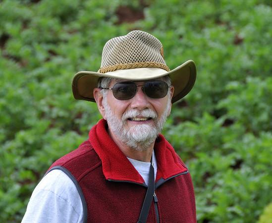 Steve, at a stop along the way, Urubamba Valley, Peru