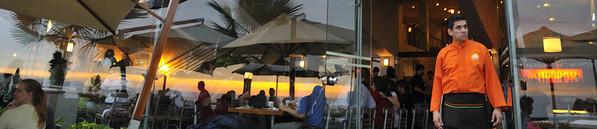 Mango's at sunset, Lima, Peru
