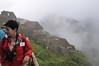 It was a cloudy and rainy day, Machu Picchu, Peru