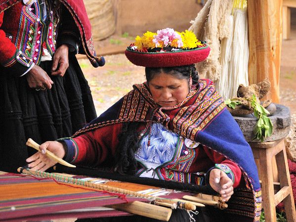 Weaving, Willoq Community, Peru