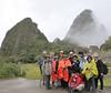 group shot, Machu Picchu, Peru