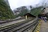 train station, Aguas Calientes, Peru