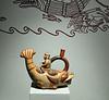 Chavin pottery, Archaelogical Museum, Lima, Peru