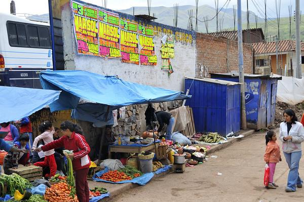 from the bus, Urubamba Valley, Peru
