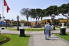 park in front of the Archaelogical Museum, Lima, Peru